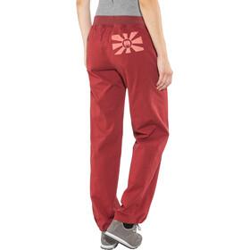 Edelrid Kamikaze III Pantalon Femme, vine red